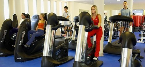 FITNESSSAAL Hotel ATH Portomagno