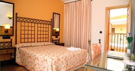 DOPPELZIMMER MIT TERRASSE Hotel ATH Santa Bárbara Sevilla