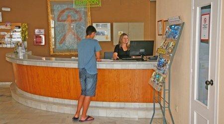 Rezeption ATH Andarax Hotel