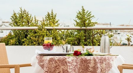 Frühstück mit Aussicht Hotel ATH Al-Medina Wellness