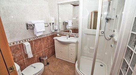 Badezimmer Hotel Complejo ATH Real de Castilla